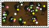 Spirited Away Sootballs Stamp by JackdawStamps