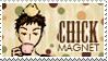 Mori and Piyo Stamp by JackdawStamps