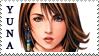 Final Fantasy X Yuna Stamp by JackdawStamps