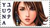 Final Fantasy X Yuna Stamp 2 by JackdawStamps
