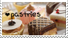 Pastries Stamp by JackdawStamps