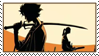 Samurai Champloo Stamp 2 by JackdawStamps