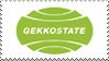 Eureka Seven Gekkostate Stamp by JackdawStamps