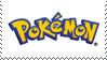 Pokemon Logo Stamp by JackdawStamps