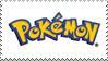 Pokemon Logo Stamp