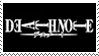Death Note Title Stamp by JackdawStamps