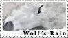 Wolf's Rain Kiba Stamp by JackdawStamps