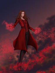 Scarlet Witch by Kyurael
