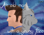 An Old Man with a Young Face by Rynneer