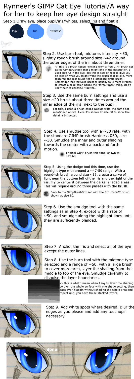 Browse the gimp resources stock images deviantart sarahleneart 0 0 gimp cat eye tutorial by rynneer sciox Image collections