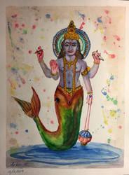 Colors of Vishnu by artaholic-artem