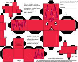 Flaky Cubeecraft by straffehond