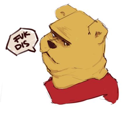 pooh burr by Munuci