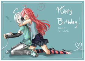 Happy Birthday JuliaDS by HikariTenjou
