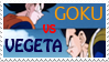 Goku vs Vegeta stamp