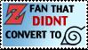 Z fan stamp