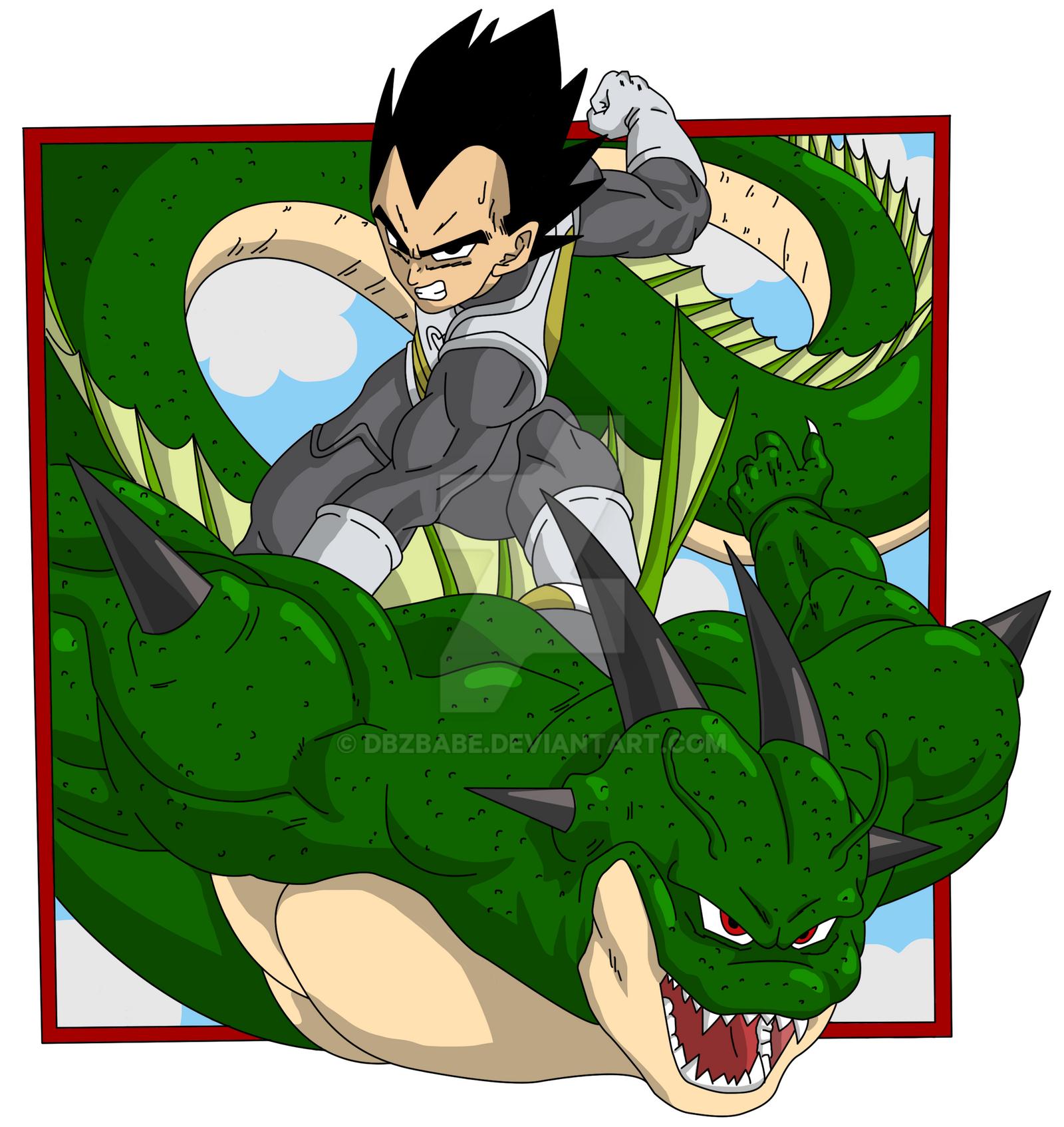 Dragon Ball Super Manga - Vegeta back cover by Dbzbabe