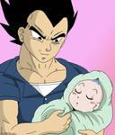Vegeta and his Princess