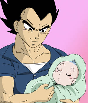 Vegeta and his Princess