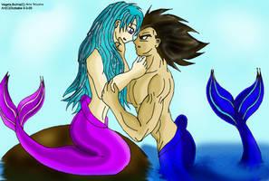 VxB Mermaid Love by Dbzbabe