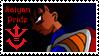 Saiyan Pride Stamp by Dbzbabe