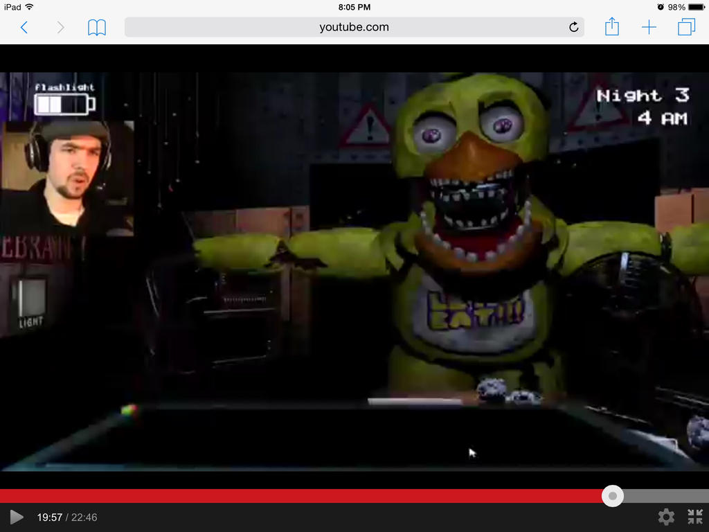 jacksepticeye plays five nights at freddy s 2 by themakaxkid on