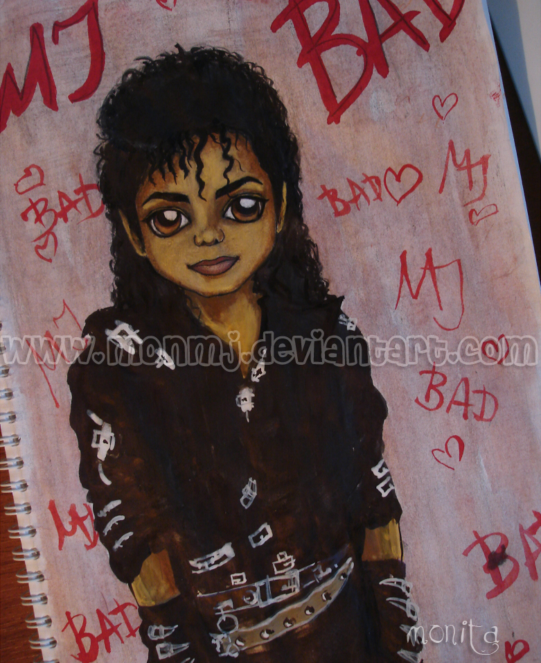 Michael BAD by MonMJ