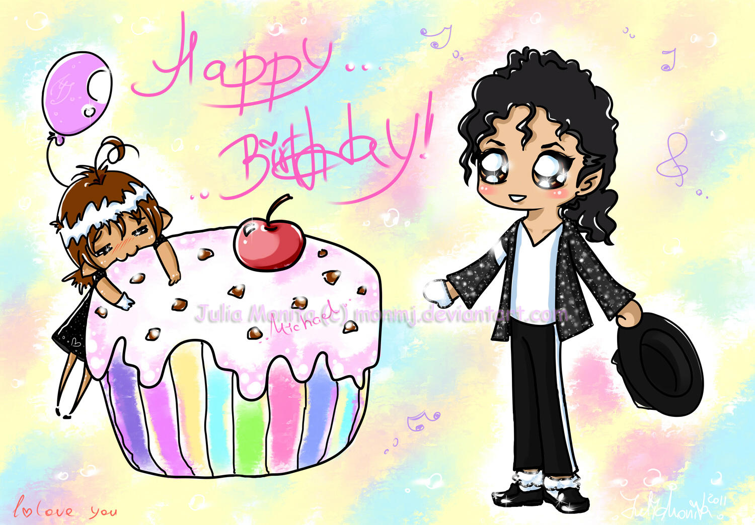 Happy Birthday dear Michael by MonMJ
