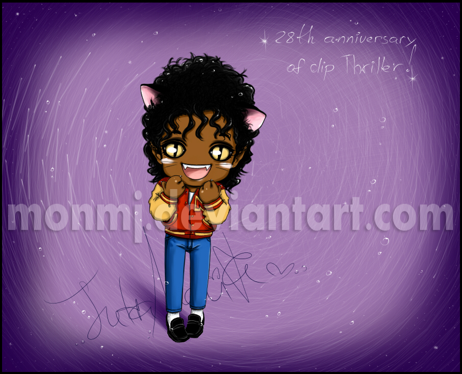 THRILLER THE 28th ANNIVERSARY by MonMJ