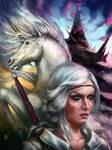 p 65 Ciri x Unicorn x Tor Lara