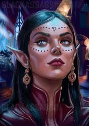 Dark Elf by BlackAssassiN999