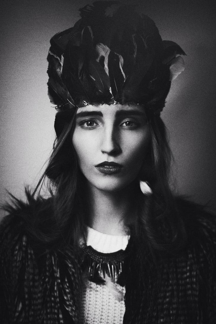 Dark beauty by FiorOf