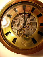Steampunk Watch Face by dravensinferno