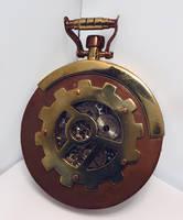 Steampunk Pocket Watch 4 by dravensinferno