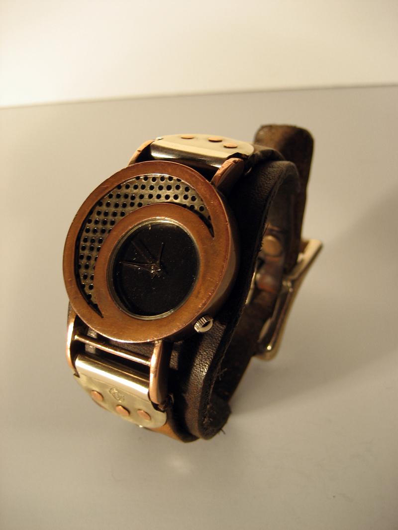 wrist watch by dravensinferno