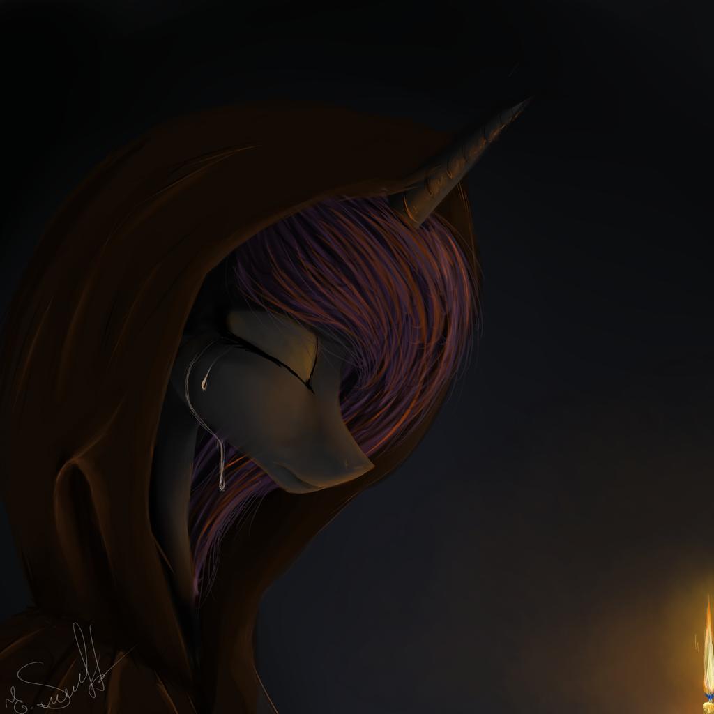 Night. Spark. Sadness . by mrsElisSmitt