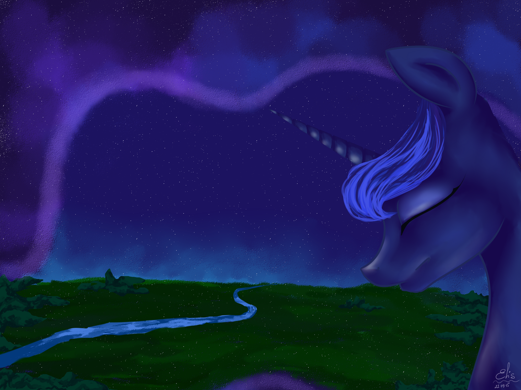 Princess Luna by AliceSmitt31