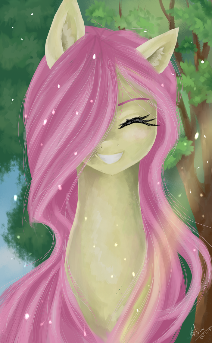 Funny Fluttershy by AliceSmitt31