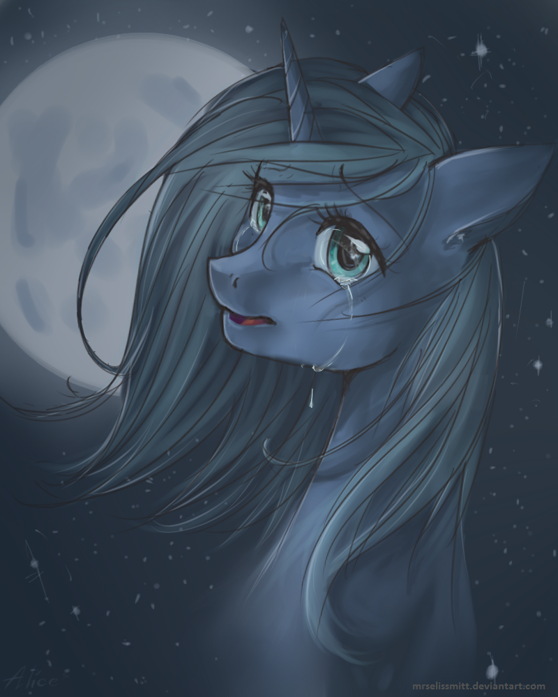 Luna in the moonlight by AliceSmitt31