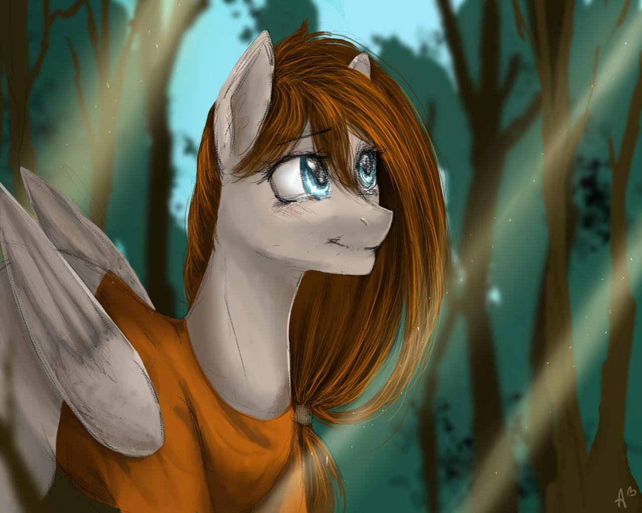 Walk in the forest by mrsElisSmitt