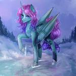 Pony on ice by AliceSmitt31