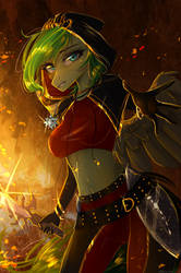 Sword fight by AliceSmitt31