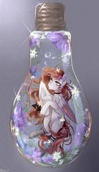 Pony in a bottle by AliceSmitt31