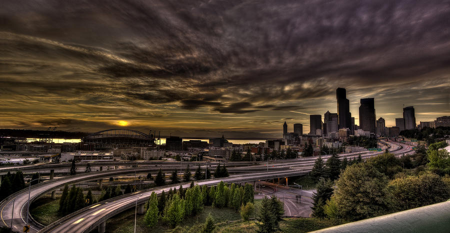 seattle panoramic 1 by photoboy1002001 on deviantart seattle sunset hdr panorama by bf2017 on deviantart 669