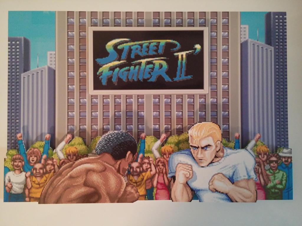 Street Fighter 2 Intro 3D Pixel Art by PixelBuddy