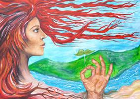 Spirit of Nature acrylic unfinished