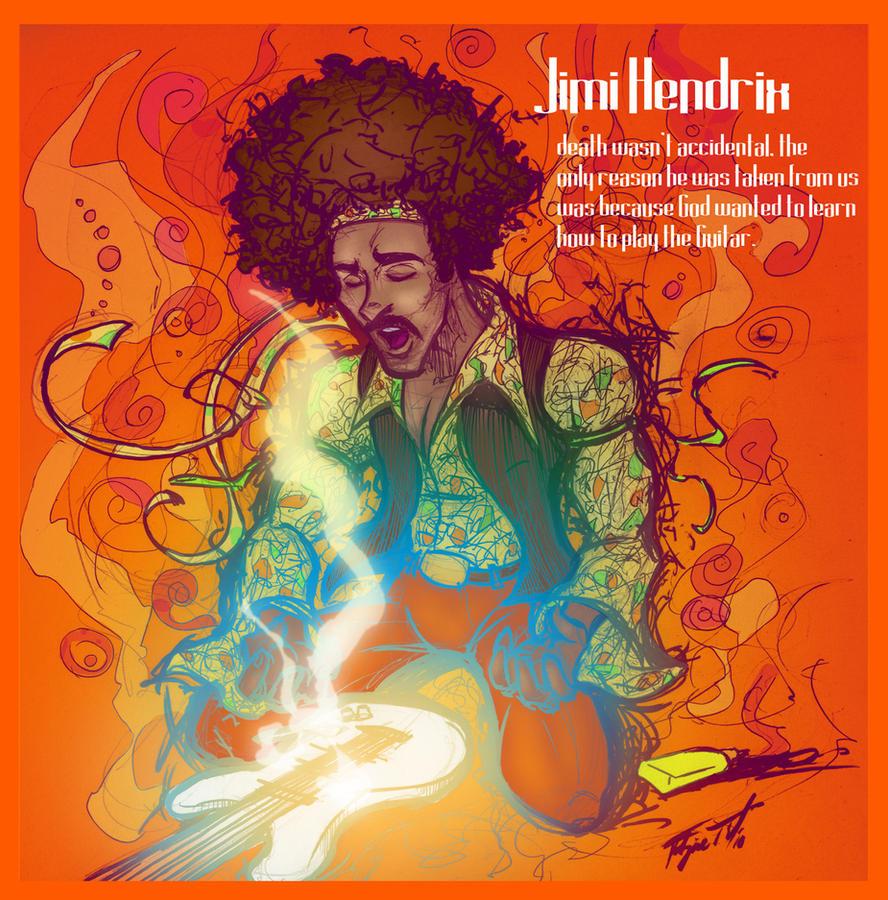 Jimi Hendrix by gelipe