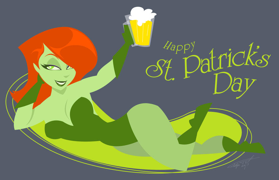 St patricks day redhead ladies