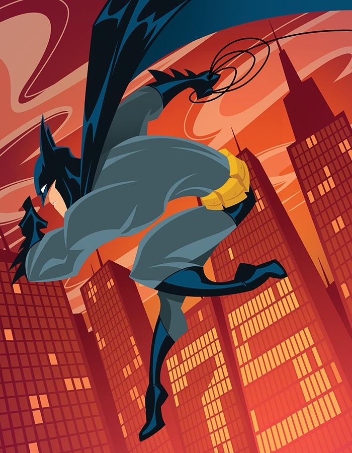 Batman 75th Anniversary by gelipe