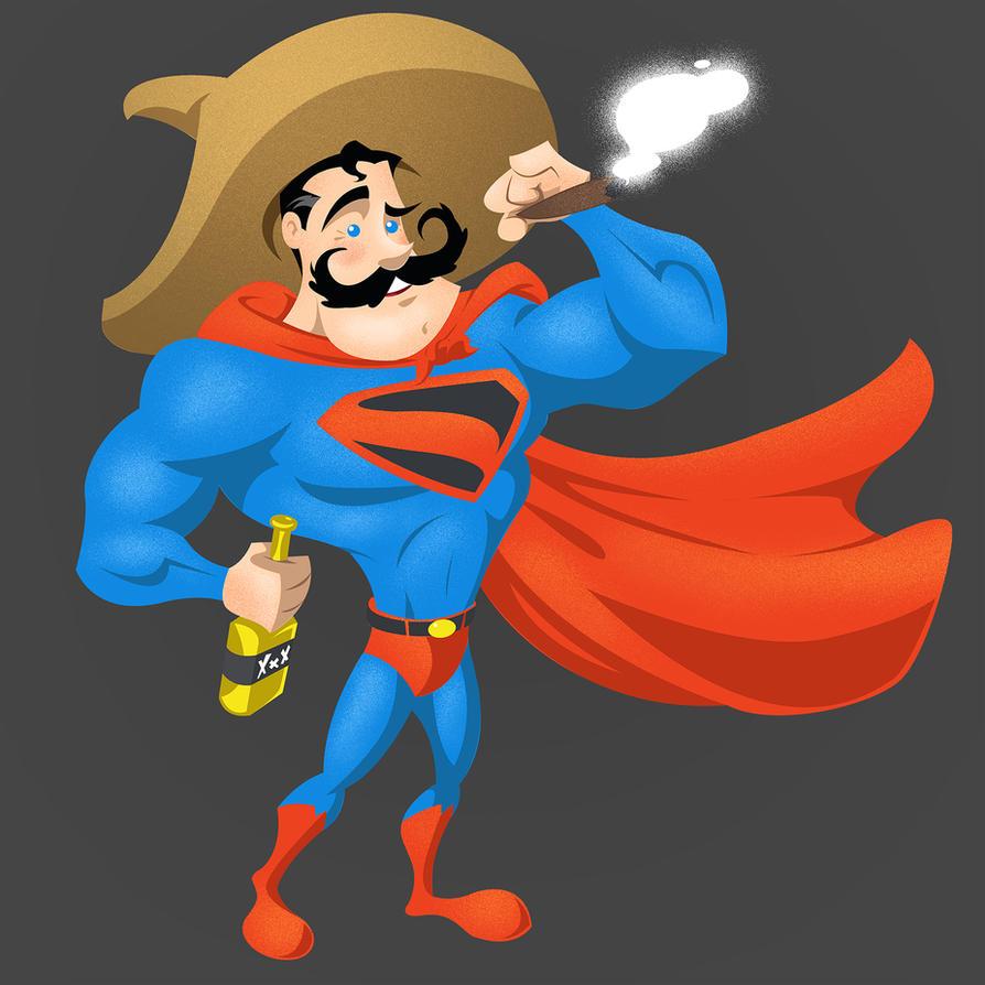 El Superman by gelipe